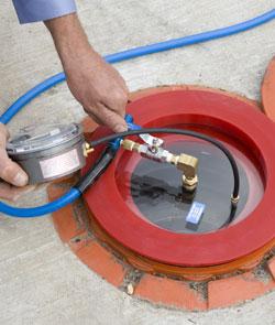 Spill Bucket Test